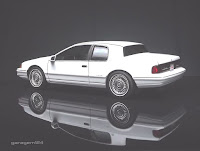 Mercury Cougar XR-7 Monogram Revell 1/25