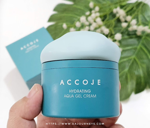 Review Accoje Hydrating Aqua Gel Cream