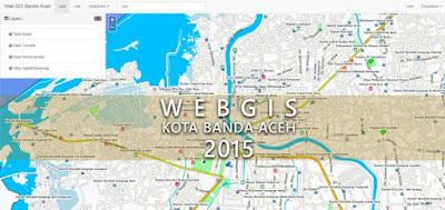 web GIS Kota Banda Aceh