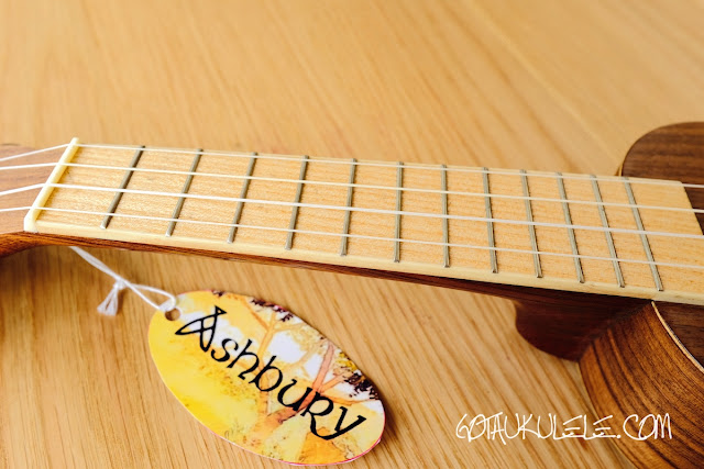 Ashbury AU-12S Soprano fingerboard