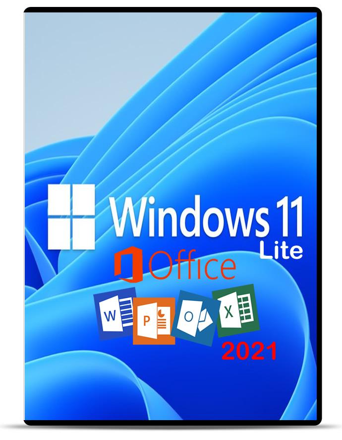 Windows 11 Lite Pro + Office 2021 LTSC Pro Plus x64 2021 Download Grátis