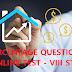 PERCENTAGE QUESTIONS - ONLINE TEST - VIII STD
