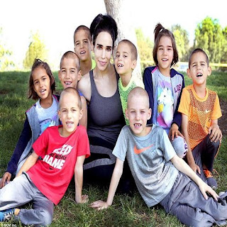 Octomom Natalie Suleman US Model Give Birth 8 Kids