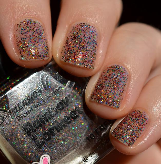 Dimension Nails Rainbow Lorikeet swatch
