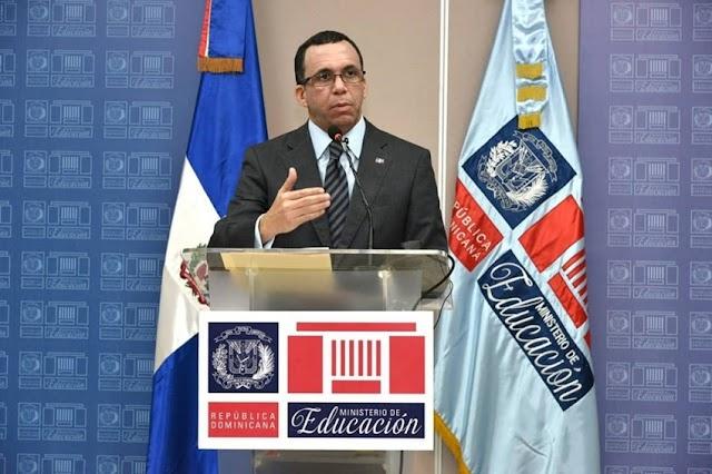 ANDRES NAVARRO informa que este año escolar iniciará con casi el 70% del estudiantado en Jornada Extendida