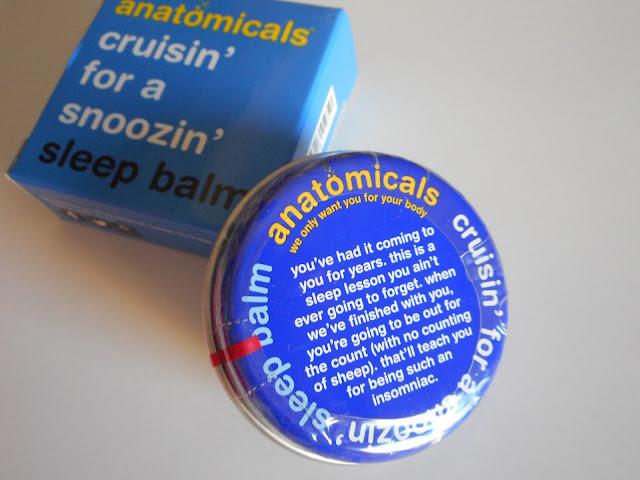 ANATOMICALS - Cruisin For a Snoozin Sleep Balm