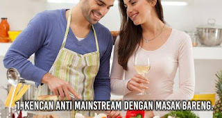 Kencan Anti Mainstream Dengan Masak Bareng.