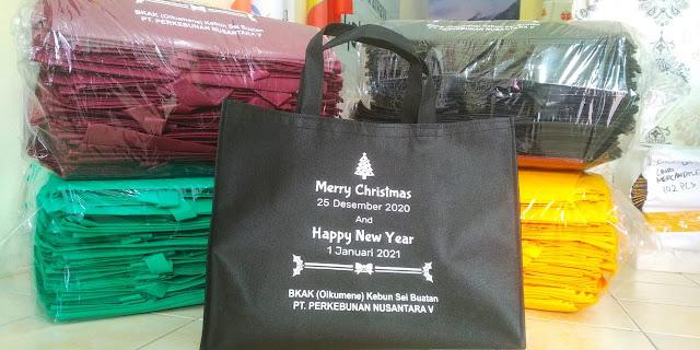 Goody Bag Souvernir Natal dan Tahun Baru
