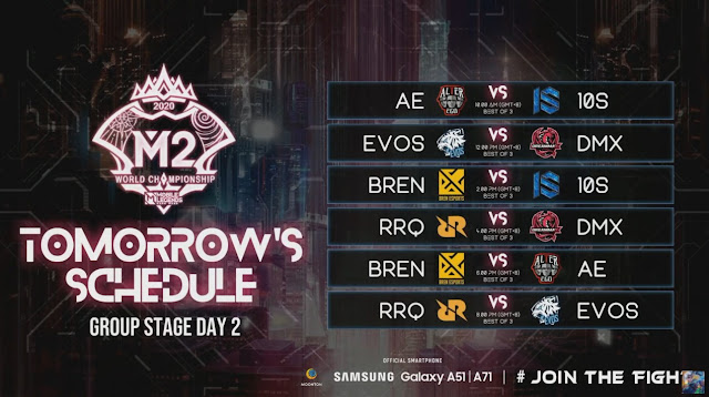 jadwal RRQ AE M2 Mobile Legends