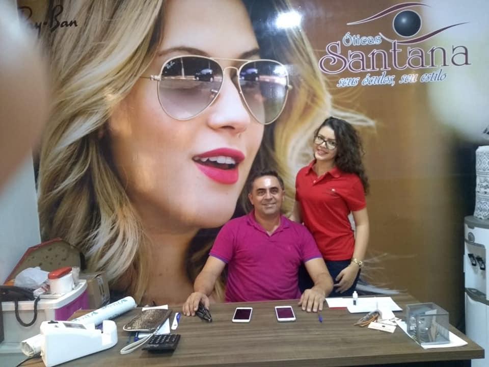 Após Meruoca,óticas Santana inaugura ótica também em Forquilha ... 696e83bd18