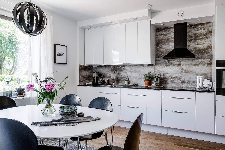 Blog wnętrzarski  design, nowoczesne projekty wnętrz   -> Kuchnia Z Salonem Umeblowanie
