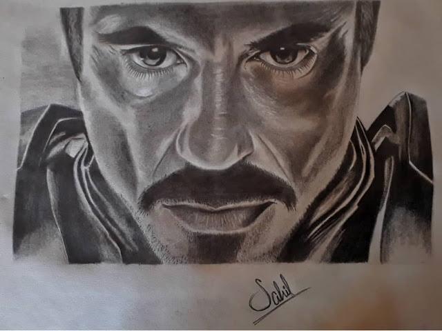 Creators : Iron Man's Portrait.