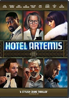 Hotel Artemis Dvd