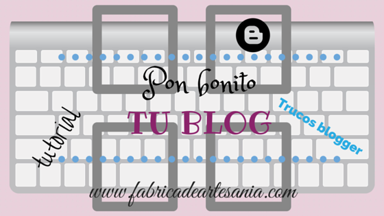 Cartel de tutoriales y trucos blogger