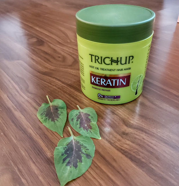Trichup hot oil hair mask