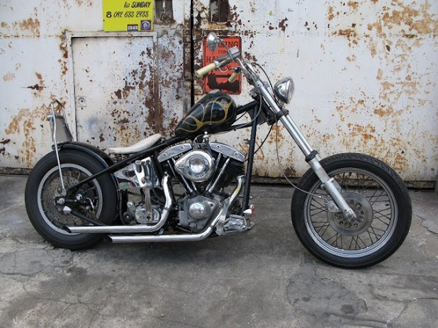 Harley Davidson Shovelhead By Gee Motorcycles Hell Kustom