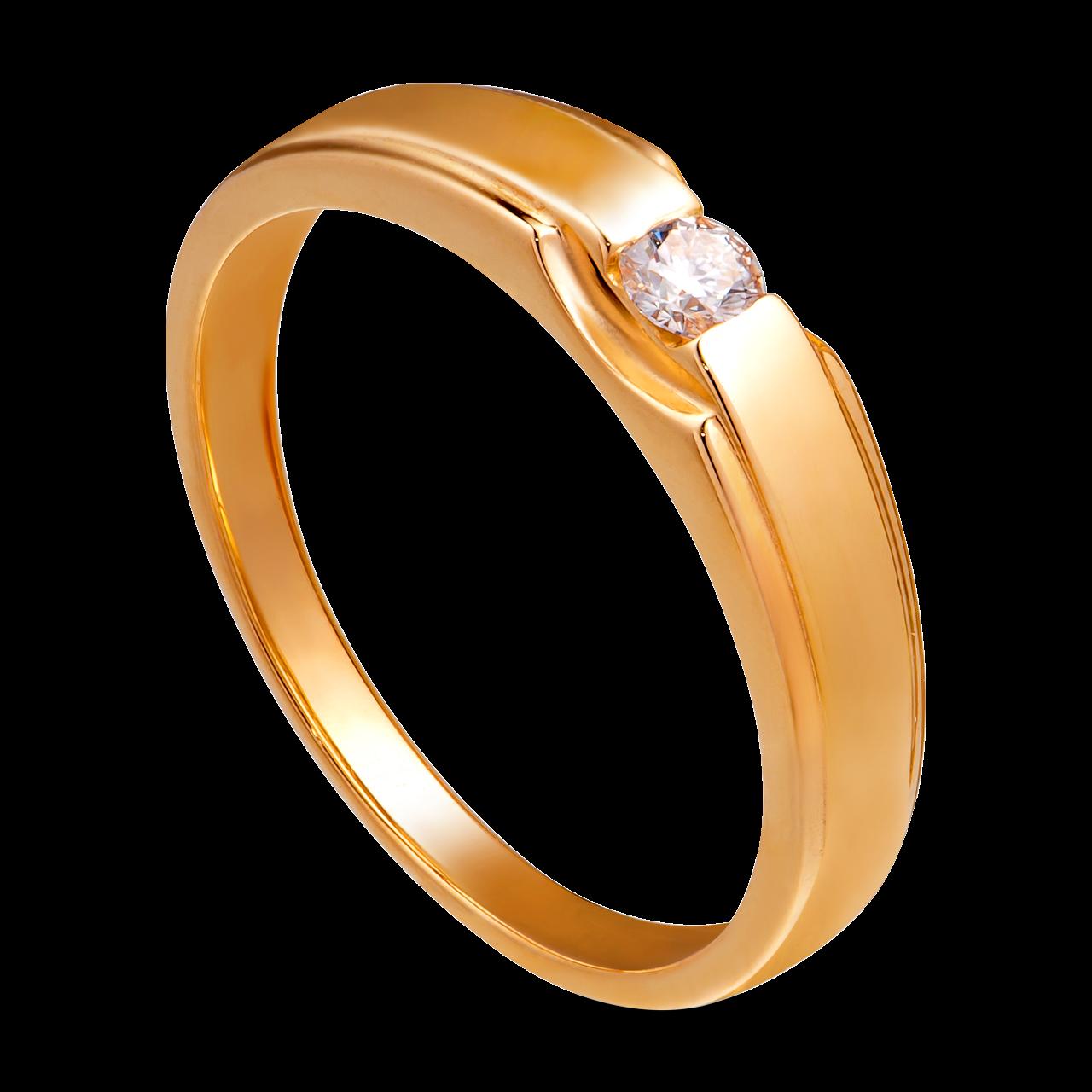 Nhẫn cưới nam Kim cương Vàng 18K PNJ Chung Đôi DD00Y000565
