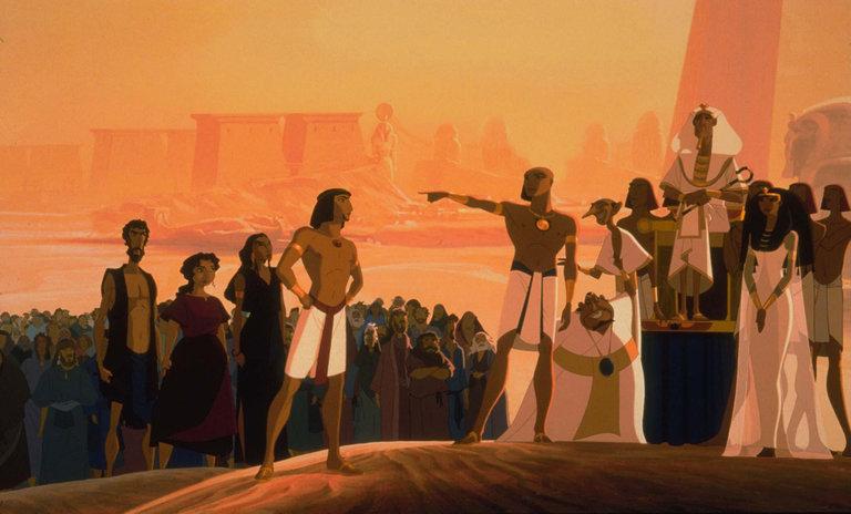 Desenho Cast O Principe Do Egito