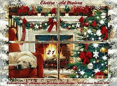 21 dicembre - Calendario dell'Avvento - Natale 2019