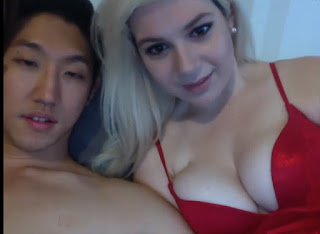 AMWF Asian Man Homemade Interracial Sex With Big Boobs White Girl