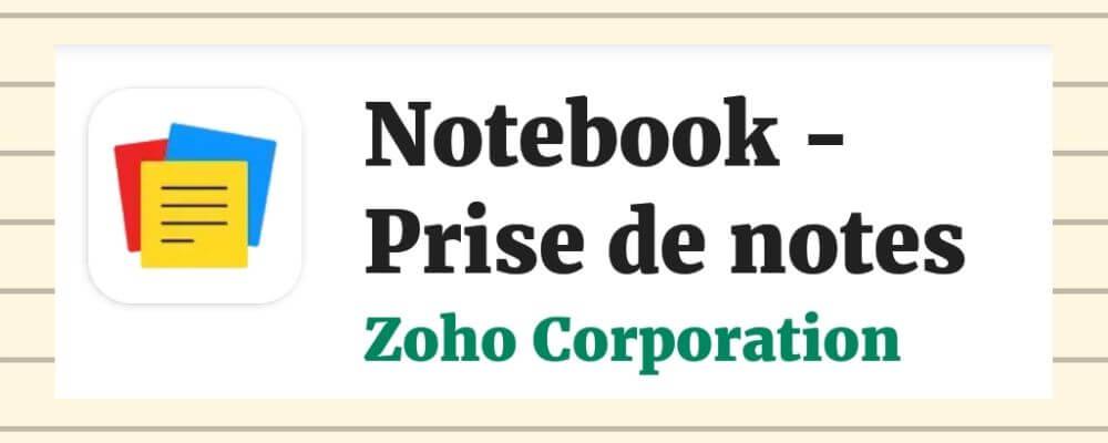 Notebook-Zoho