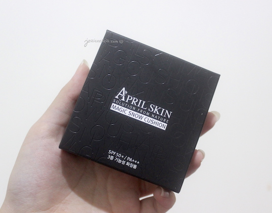 April Skin Magic Snow Cushion #23 Natural Beige review by Jessica Alicia