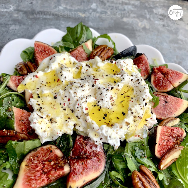 SALADE FIGUES BURRATA