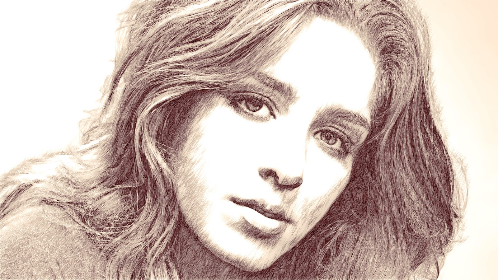 Pencil portrait tutorial