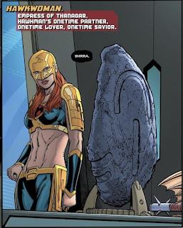 Hawkwoman is Shayera Hol, Empress of Thanagar