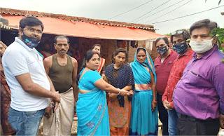 भारत विकास परिषद ने राधिका की शादी में किया सहयोग | #NayaSaberaNetwork