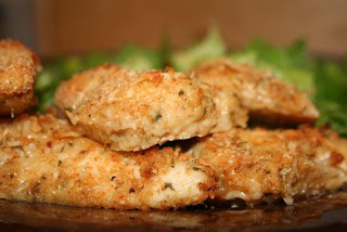 6 paso para preparar chuletas de pollo parmesano