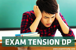 Exam Tension DP | Whatsapp DP for Exam Time