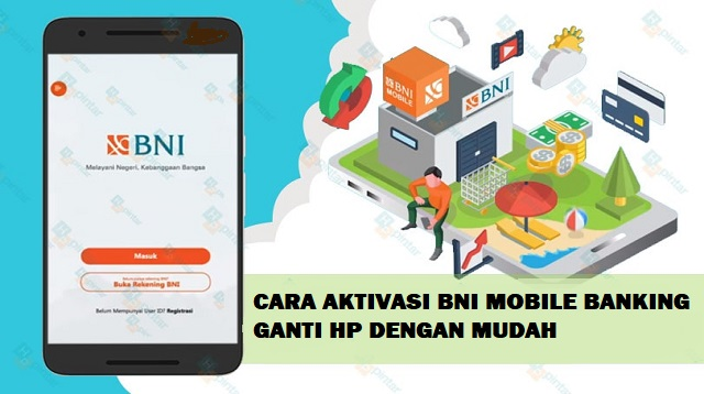 Cara Aktivasi BNI Mobile Banking Ganti HP