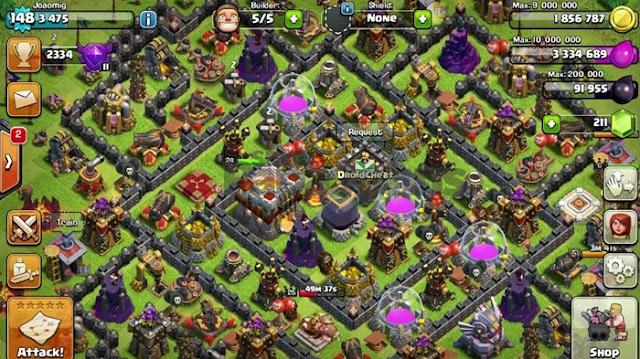 Download Clash of Clans MOD APK v.13.675.23 (Unlimited Gems)