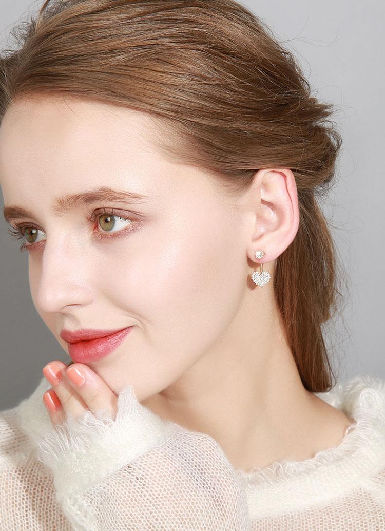 愛的光芒鋯石耳環