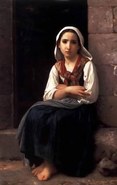 Адольф Вильям Бугро - Ивонетта (1867)