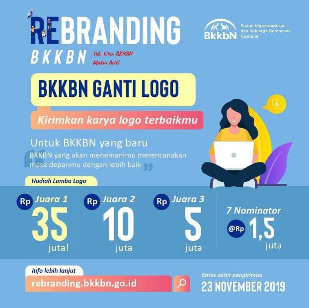 [GRATIS] Lomba Desain Logo Nasional 2019 di BKKBN