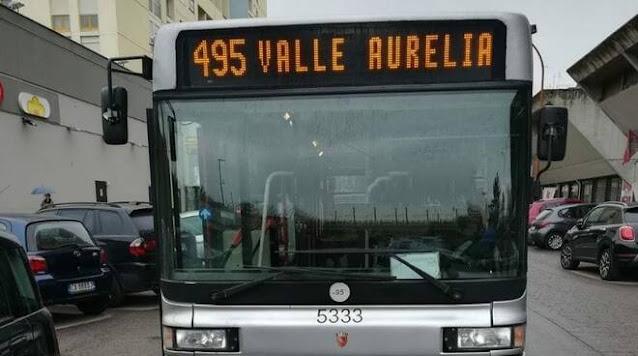 A Valle Aurelia residenti appiedati
