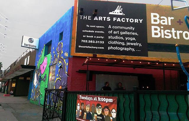 Dicas de Las Vegas: The Arts Factory Ambiente