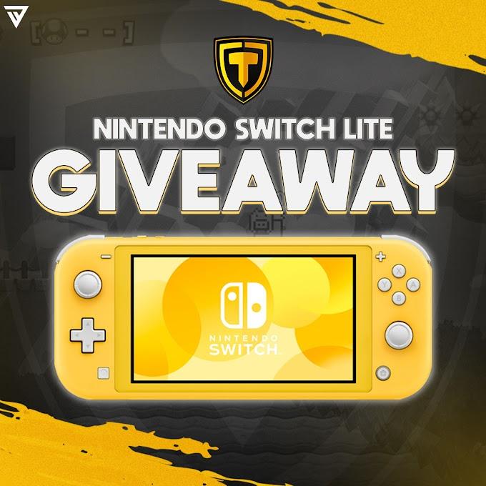 Sorteio de Um Nintendo Switch Lite Partícipe!