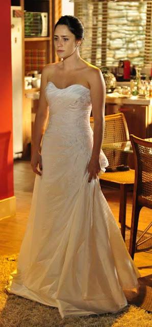 A vida da gente ana vestido de de noiva