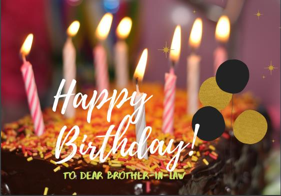 Best Happy birthday wishes for Brother-in-Law | whatsapp and Facebook messages