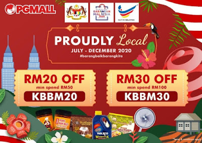Kempen PG Mall Proudly Local #BarangBaikBarangKita