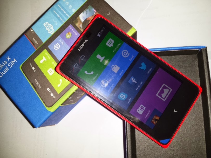 Unboxing Nokia X as it was officially launched in the Philippines