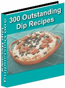300 dip recipes ebook