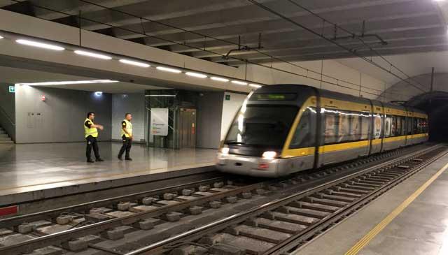 Heroismo Station Porto Metro