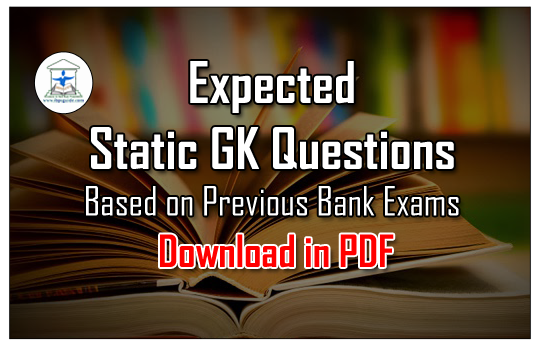 static gk questions and answers pdf