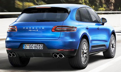 The All New 2016 Porsche Macan R4 blue Hd Wallpaper