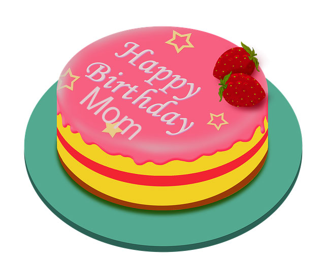Happy Birthday mom Cake
