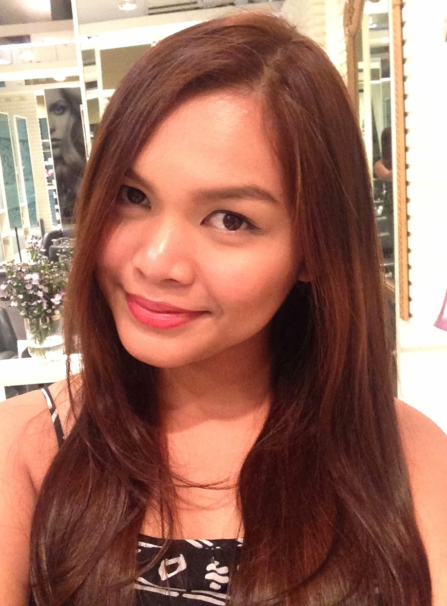 Wearin' my color proud with a new hair color at Regine's ...